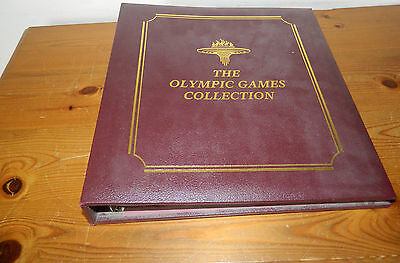 Benham Covers 1996 Olympics Collection (20 Covers In Album)