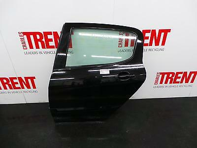 2010 MK1 PEUGEOT 308 5 Door Hatchback Black N/S Passengers Left Rear Door