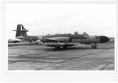 RAF Gloster Meteor WS790 Vintage Photograph