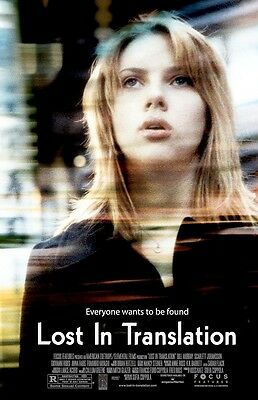 Lost In Translation movie poster - Scarlett Johansson poster - 11 x 17 inches