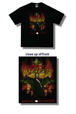 Ozzy Osbourne-NEW Prince of Darkness T Shirt-Large SALE FREE SHIP TO U.S.!
