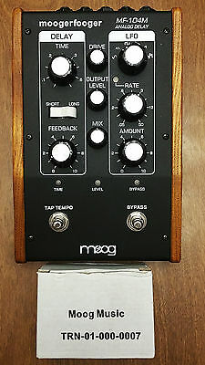 Moog Moogerfooger MF-104M Analog Delay Pedal - Rare & Unique! Property of Moog