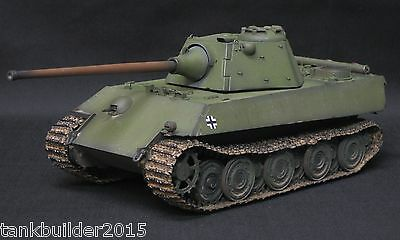 DRAGON PzV Ausf F PANTHER SCHMALTURM PRO BUILT AND PAINTED 1/35  TAMIYA ITALERI
