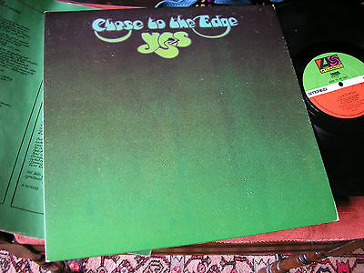 YES   -    Close To The Edge,     ORIGINAL 1972 UK FIRST ISSUE LP / inner.... EX