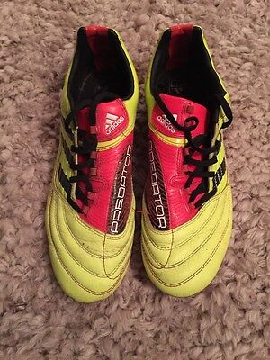 Men's Adidas Predator Football Boots Size 8