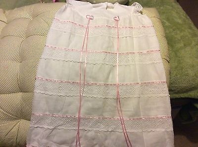 Vintage Pretty Lined Christening Gown/Dress Etc
