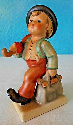 """Vintage Hummel """"merry Wanderer"""" Signed~4-1/2"""" H~ W. Germany  Exclt Cond!"""