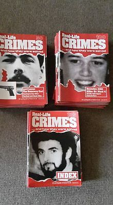 Real Life Crime magaines -Full Set 135 issues