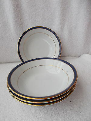 """Boots Aegean - 4 Cereal or Dessert Bowls 6.25"""""""