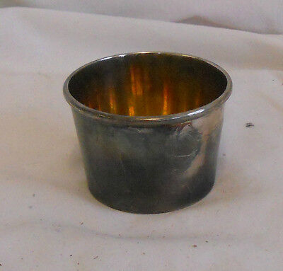 STUNNING Vintage Collectable TRADITIONAL EPNS SILVER PLATED MUSTARD POT