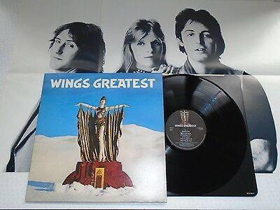 Wings-Greatest..complete 1St Uk Press (Near) Mint/unplayed? Vinyl Lp Record 1978