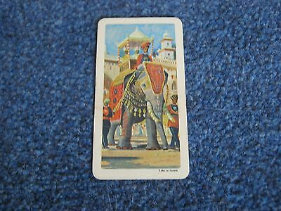 BROOKE BOND CANADA,TRANSPORT THROUGH THE AGES,CARD No 1.