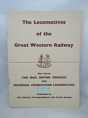 Locomotives Of The Great Western Railway : 11 Rail Motors & Internal Combustion