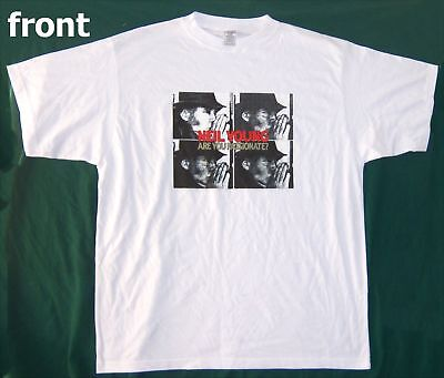 Neil Young Are You Passionate Pics Wht T-Shirt 2Xl New