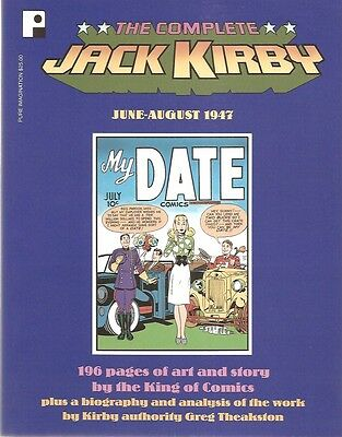Complete Jack Kirby June-August 1947 TP/My Date/Earl/Crime/2001 Pure Imagination