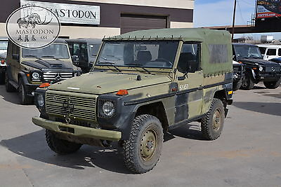 1989 Mercedes-Benz G-Class 4x4 diesel MANUAL G-wagon 1989 Green 4x4 diesel MANUAL 4x4 240GD G-wagon Mastodon Military