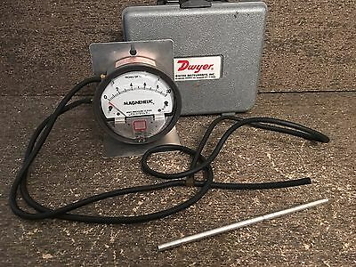Dwyer Magnehelic Differential Pressure Gauge 0-10 Inches of Water