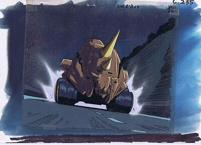 Beast Wars Transformers Original Production Animation Cel & Painted Bkgd #A16949