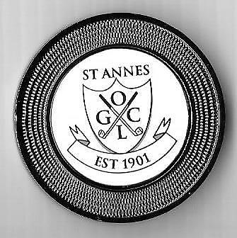 S Annes Old Course Duo (Pocket) Marker
