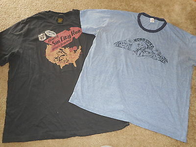 Lot Of 2 Lucky Brand Mens Short Sleeve T Shirts Size Xxl