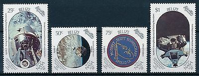 [L0189] Belize 1989 : Space - Good Set of Very Fine MNH Stamps