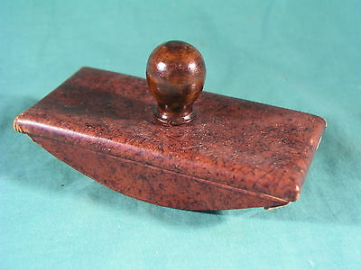 Vintage Leather Writing Desk Fountain Pen Ink Blotter
