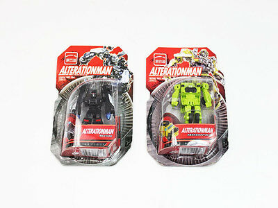 2 X Transformers Toys Alterationman Robot Action Figures 2 Types Job Lot
