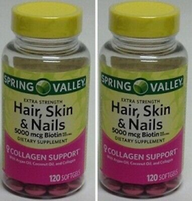 Spring Valley Hair Skin And Nails Collagen Support | lajoshrich.com