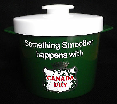 Vintage Canada Dry Ice Bucket-70's?-Lovely-Great Condition!!!
