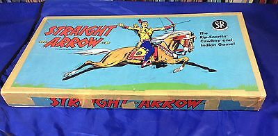 1950 Straight Arrow Cowboy & Indian Game