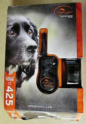 SportDog SD-425 Field Trainer Remote Dog Training Collar+Long Probes (Opened)