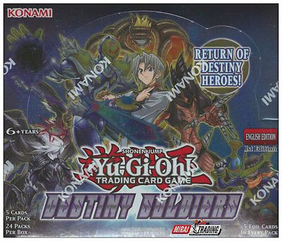 Yu-Gi-Oh! Destiny Soldiers English 1st. Edition Booster Box