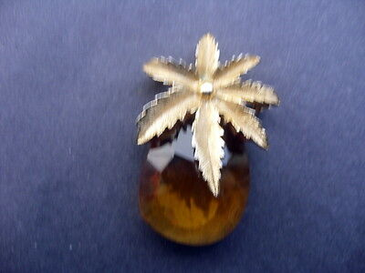 Vintage (1960s/70s) Sarah Coventry/Cov crystal pineapple brooch/pendant