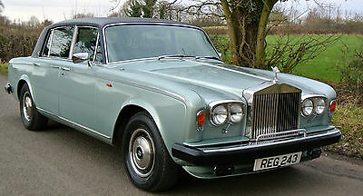 1979    Rolls Royce Silver Wraith II  last owner 30 years only 18K MILES