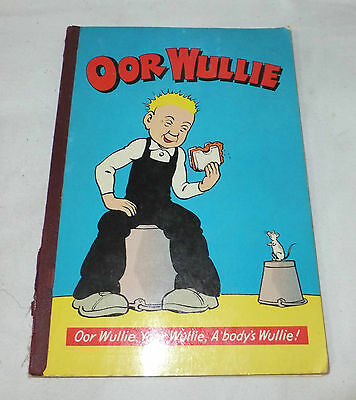 OOR WULLIE 1973 Vintage ANNUAL Comic D.C.Thomson & Co Ltd COLLECTORS Rare