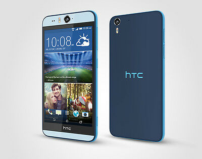 "Sim Free Htc Desire Eye M910N 16Gb Blue Factory Unlocked 4G Lte 5.2"" Smartphone"