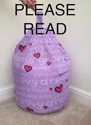COVER ONLY Character Groovy Chick Beanbag Kid Bean Bag Beenie Bedroom