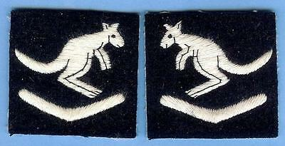 Australian Army Sign Patch Pair--6th Australian Division