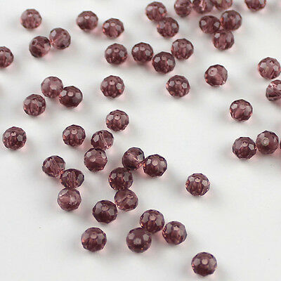 Brand New 100pcs Austria Crystal 3x4mm 5040 Rondelle Beads DY05