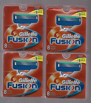 Gillette Fusion SHAVING  Refill Cartridges X  32  [***FREE SHIPPING***]