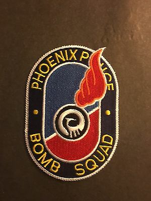 Phoenix Arizona Bomb Squad  Shoulder Patch