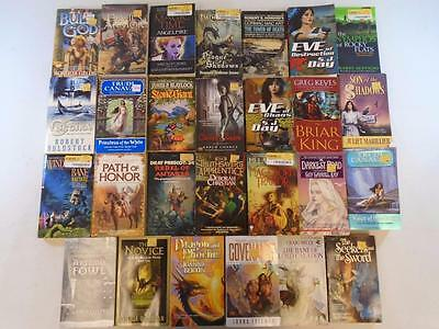 Lot of 27 Fantasy Paperback Books~John Marco~Trudi Canavan~S. J. Day