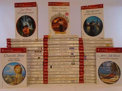 Lot of 51 Harlequin Presents Serial Romance Paperback Books