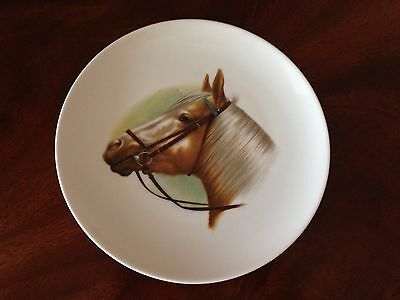 Vintage Collectible Horse Head Plate~Kaiser~Country Cottage Farm Chic Home Decor