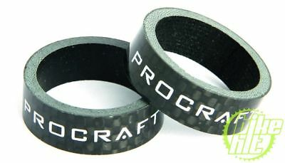 PROCRAFT Spacer Carbon 1 Zoll VE 2, 10 mm, carbon