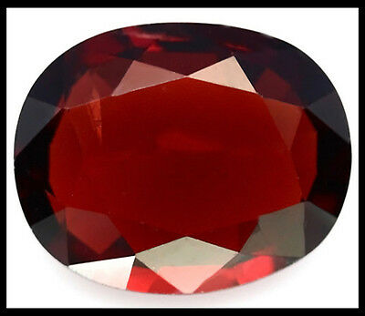 BARGAIN SALE!!! STUNNING 5x4MM EYE CLEAN RICH RED MOSAMBIQUE GARNET OVAL