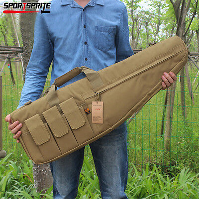 """38"""" Police Hunting Tactical Rifle Gun Carrying Bag Case Pouch Tan"""