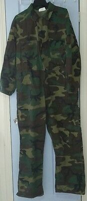 ROBETTS MFG Men's Long Sleeve Camoflouge Jumpsuit Coveralls Size XL