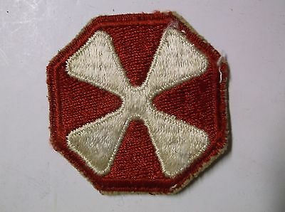 Vintage Masonic or Red Cross Military sew on Patch aviation? arts crafts