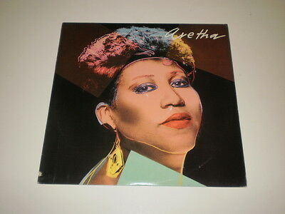 ARETHA FRANKLIN - Aretha - LP ARISTA RECORDS  MADE IN U.S.A. - COVER BY A.WARHOL